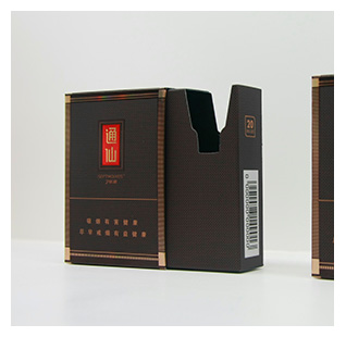 通仙烟盒包装