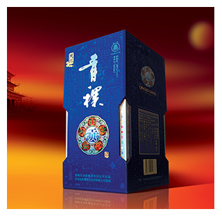 青稞贡酒包装