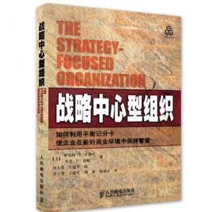战略中心型组织(如何利用平衡记分卡使企业在新的商业环境