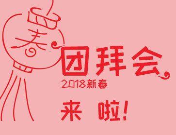 虎彩2018新春团拜会